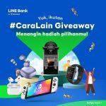 Lomba Foto Cara Lain LINE Bank, Pilih Hadiah Nintendo Switch dan lainnya