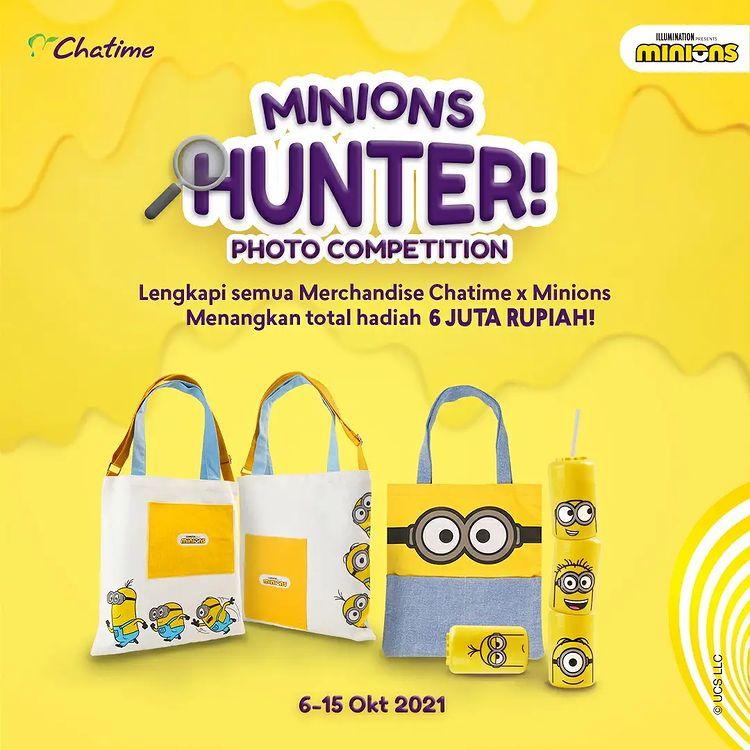 Lomba Foto Chatime Minions Hunter Berhadiah Uang 6 Juta + Voucher