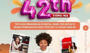 Lomba Foto HUT 42th Yong Ma Berhadiah 10 Digital Magic Com Gratis (1)