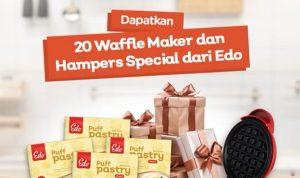 Lomba Kreasi Edo Puff Pastry Berhadiah 20 Wafle Maker + Hampers