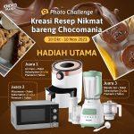 Lomba Kreasi Resep Chocomania Berhadiah Air Fryer, Microwave, Blender