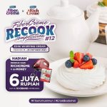 Lomba Recook Whipping Cream Berhadiah Produk + E-Money Total 6 Juta