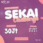 Lomba Remix Reels SEKAI Berhadiah Total 30 Juta Untuk Ratusan Pemenang