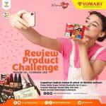 MamaSuka Indonesia berkolaborasi dengan Yomart Minimarket untuk ngadain Lomba Review Produk-produk Mamasuka yang ada di Yomart. Untuk kamu yang sering belanja di Yomart, langsung saja ikutan sob.