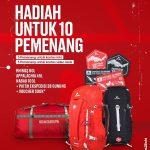Hadiah Lomba Sumpah Pemuda Berhadiah Produk Eiger Ekspedisi 28 Gunung