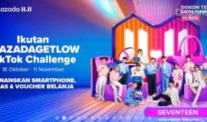 Lazada Get Low TikTok Challenge Berhadiah SAMSUNG Z Flip 3