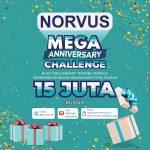 Lomba Video Filter NORVUS Mega Anniversary Total Hadiah 15 Juta Rupiah