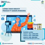 Lomba Video Garam Persero Berhadiah Total 3 Juta Untuk Para Juara