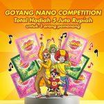 Lomba Video Goyang Nano Berhadiah Total 5 Juta untuk 3 Juara