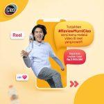 Lomba Video IG Reels Review Murni Cleo Berhadiah Total 2.5 Juta