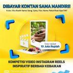 Lomba Video Reels Berbagi Kebaikan Berhadiah Total 10 Juta Rupiah