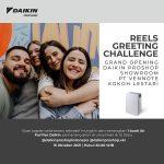 Lomba Video Reels Ucapan Selamat Berhadiah Daikin Air Purifier MC30