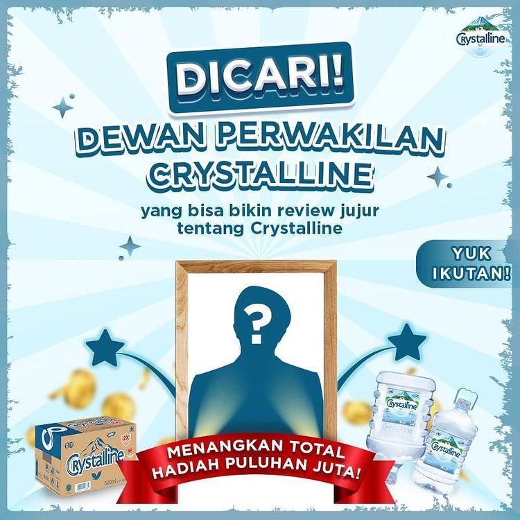 Lomba Video Review Crystalline Berhadiah Total Puluhan Juta Rupiah