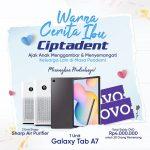 Lomba Warna Cerita Ibu Ciptadent Berhadiah Samsung Tab A7, Air Purifier, dll