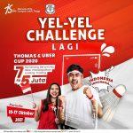 Lomba Yel-Yel Thomas & Uber Cup 2020 Berhadiah E-Money Total 35 Juta