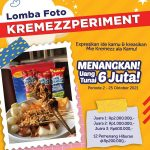 Lomba foto Kremezzperiment Berhadiah Uang Tunai Total 6 Juta Rupiah