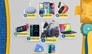 Main Game Joyday Ride Berhadiah Motor, iPhone 12, Laptop dan lainnya