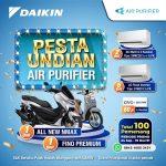 Pesta Undian Air Purifier Daikin Berhadiah All New NMax, Fino Premium, dll