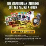 Promo Tao Kae Noi x PUBG Berhadiah iPad Pro Gen-4, UC, Earphone, dll