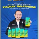 Promo Undian Rejeki Pelanggan TOP 1 Berhadiah 5 Smartphone Tiap Bulan