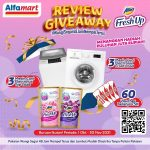 Review Giveaway Attack Fresh Up Alfamart Hadiah 6 Mesin Cuci & Voucher