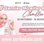 TikTok Challenge Garnier Micellar Rewind Berhadiah iPhone XR
