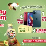 TikTok Challenge Good Day Good Jam Berhadiah iPhone 12 Pro, Vivo Y12i