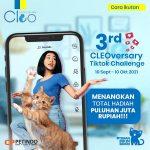 TikTok Challenge Ultah Cleo ke-3 Berhadiah Uang Tunai Puluhan Juta