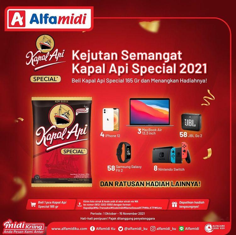 Undian Kapal Api Special 2021 Berhadiah Macbook Air, iPhone 12, dll