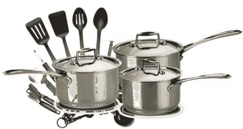 Berhadiah peralatan dapur
