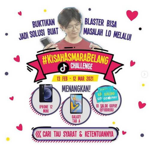 Kisah Asmara Belang Challenge Blaster